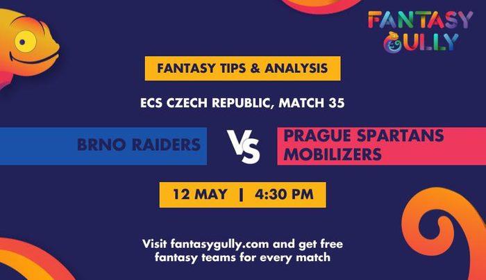 Brno Raiders vs Prague Spartans Mobilizers, Match 35