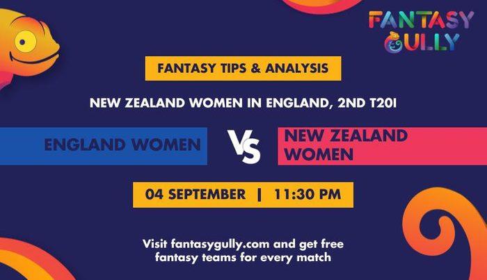 England Women vs New Zealand Women, 2nd T20I