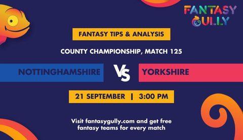 Nottinghamshire vs Yorkshire