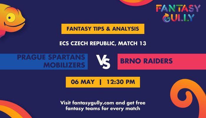 Prague Spartans Mobilizers vs Brno Raiders, Match 13
