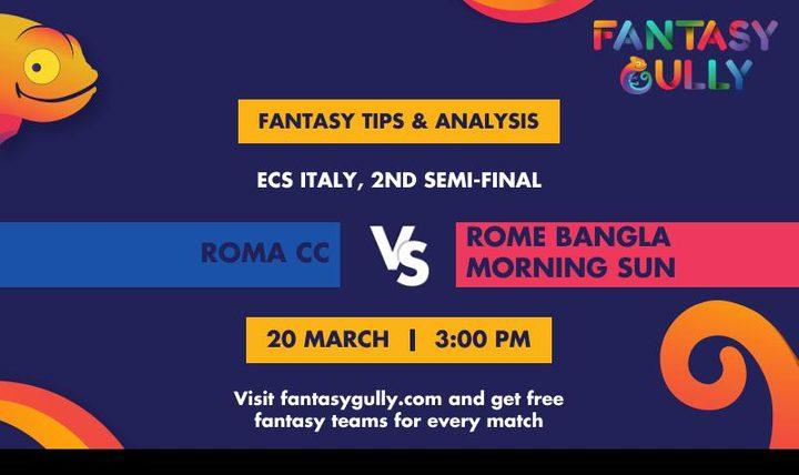 RCC vs RBMS, 2nd Semi-Final