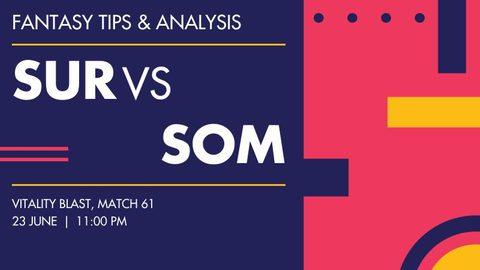 Surrey vs Somerset