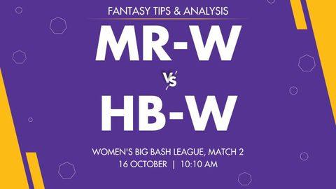 Melbourne Renegades Women vs Hobart Hurricanes Women