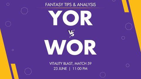 Yorkshire vs Worcestershire